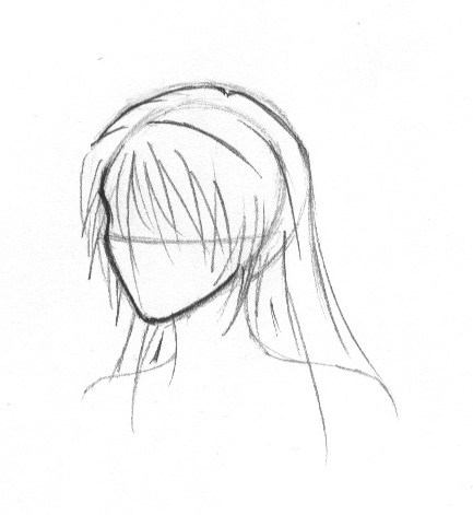how to draw spiky anime hair